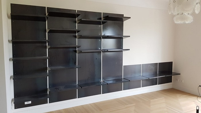 WALLPAPER BOOKCASE