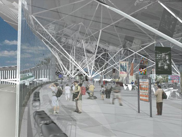 Eolian Islands Airport terminal