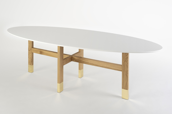 ArchiMade table – oval